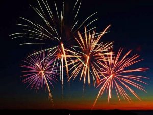 Fireworks, Canada Day, Cruise, Parry Sound